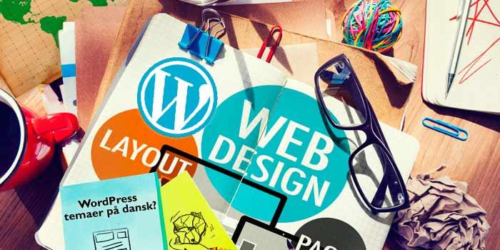 Anbefaling af gode WordPress temaer på dansk