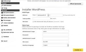 Hvordan geninstallerer jeg WordPress?