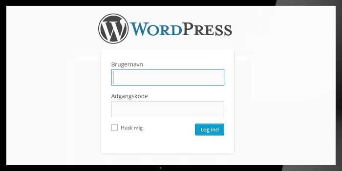 Bruger registrering WordPress