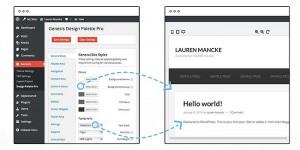 Rediger dine Genesis WordPress temaer uden brug af kode – Design Palette Pro