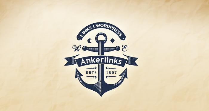 Ankerlinks I WordPress