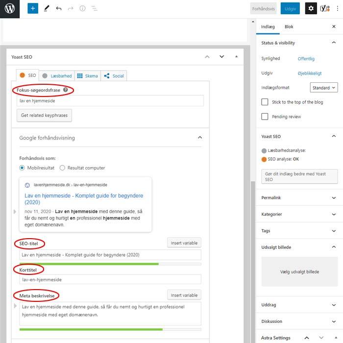 Optimering af WordPress - Toast